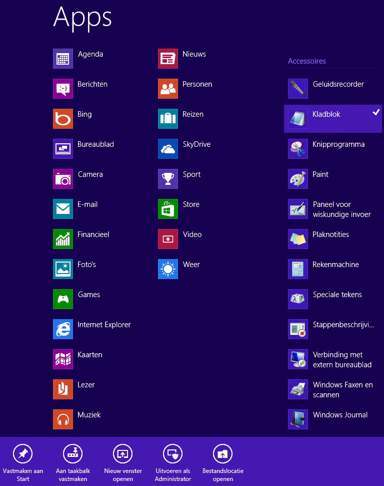Windows 8 - Hosts file openen als administrator - Tech-Notes
